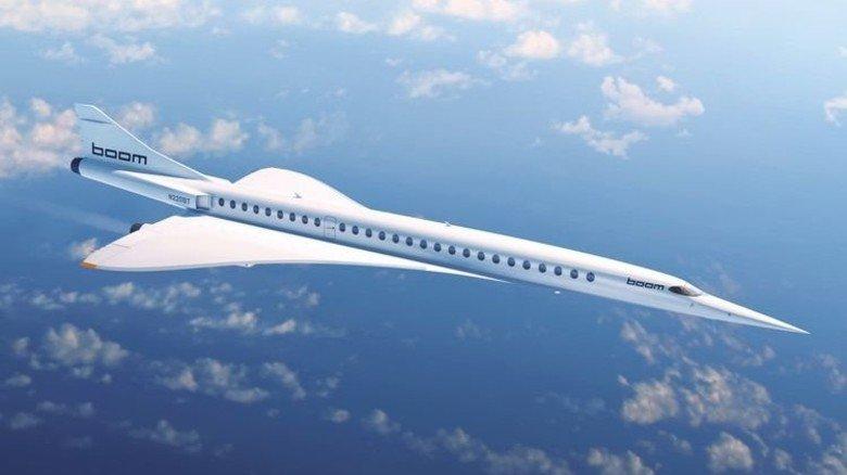 Concorde-Nachfolger: Die US-Firma Boom wagt das Comeback des Überschall-Jets. Foto: Boom