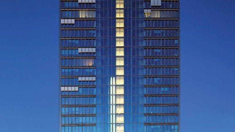 Weser Tower: Kone hat auch dieses 22 Stockwerke hohe Gebäude in Bremen ausgestattet. Foto: Werk