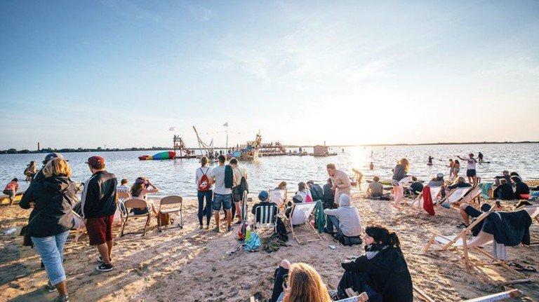 Vier Tage Sport, Musik und Kultur: Am 23. August beginnt die sechste Auflage des Pangea-Festivals in Pütnitz an der See. Foto: Dan Petermann