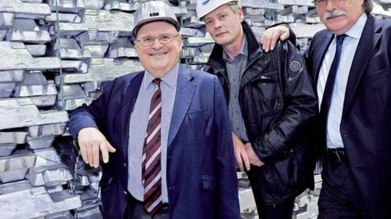 Geschäftsführer: Alois Franke, Christoph Müller, Bernard Michel Ecker (von links). Foto: Sigwart