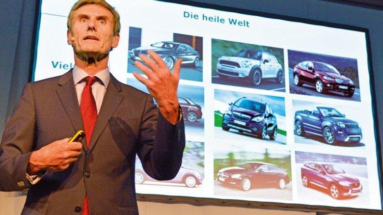 """Ferdinand Dudenhöffer: """"Nur Dinge retten, die für die Zukunft auch geeignet sind."""" Foto: Scheffler"""