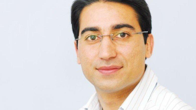 Ehsan Vaillizadeh, Experte am IAB in Nürnberg. Foto: IAB
