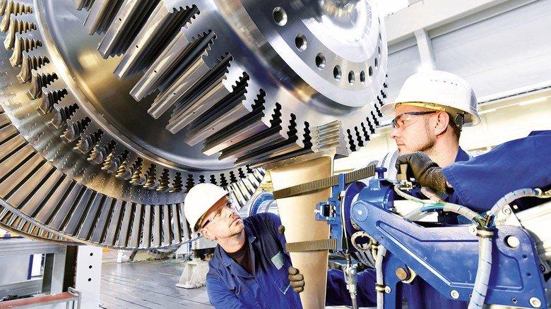 Turbine made in Germany: Unsere Industrieprodukte sind weltweit gefragt.