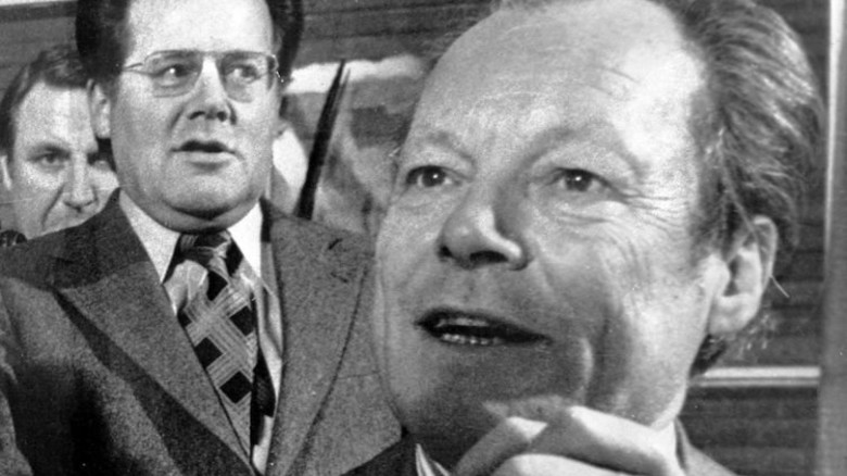 Bonner Geschichte: Spion Guillaume mit Kanzler Brandt; … Foto: dpa