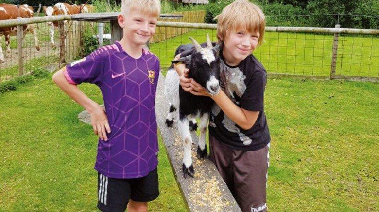 Abenteuer auf dem Land: Bauernhöfe sind für Kinder immer spannend. Foto: Erlebnisbauernhof Strüven