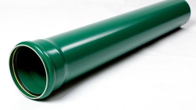… und Kunststoffrohr halten was aus. Foto: Werk