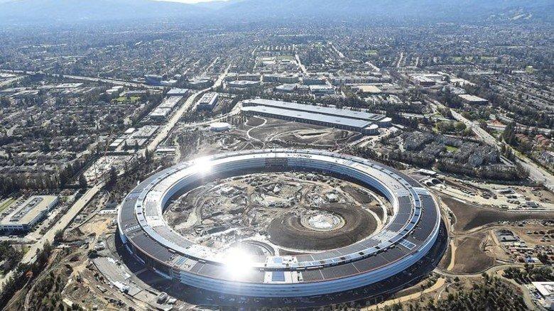 Apple: Die neue Zentrale ist 260.000 Quadratmeter groß. Foto: Reuters