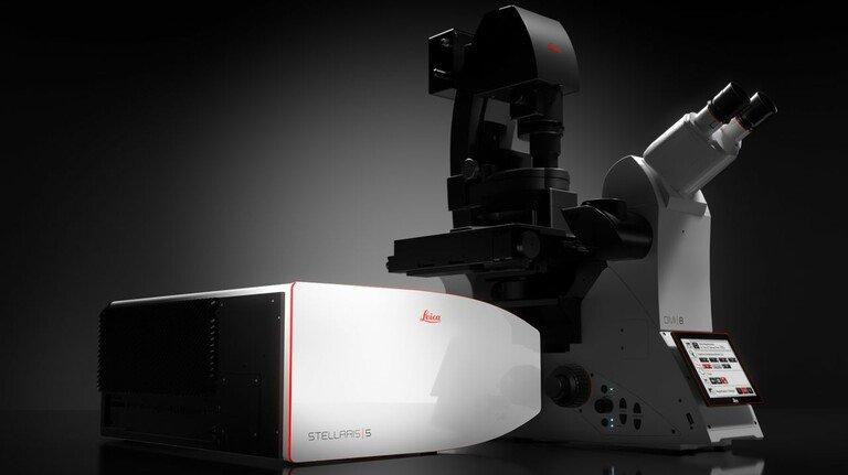 Ermöglicht den Blick in menschliche Zellen: Stellaris von Leica Microsystems in Wetzlar.
