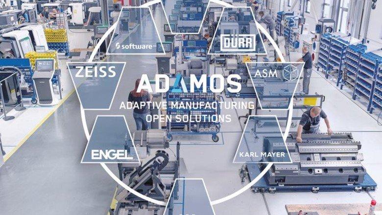 Adamos: Plattform für den Mittelstand von Weltmarktführern wie Dürr und Zeiss. Foto: Scheffler