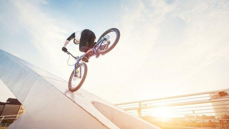 Bremspower: In den 1990er Jahren revolutionierte Magura das Mountainbiken mit neuer Bremstechnik.  Foto: Werk