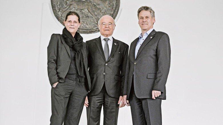 Zwei Generationen, drei Unternehmenslenker: Gründer Franz Josef Wolf, Tochter Christina Kremser-Wolf und Sohn Bernhard Wolf.