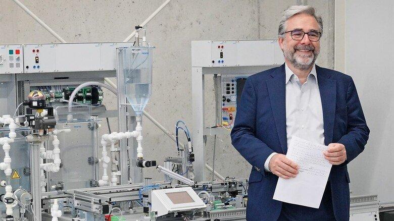 Begeistert: Peter Golinski, Nordmetall-Geschäftsführer Bildung und Arbeitsmarkt.