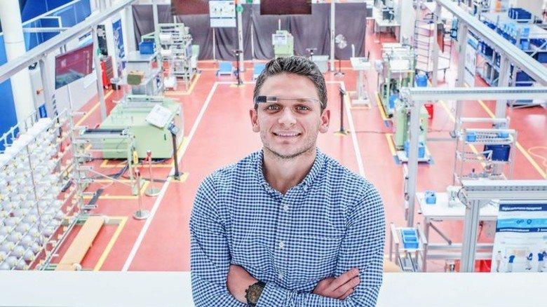 Hightech auf Turnhallenbelag: Marco Saggiomo im DCC Aachen. Foto: Roth