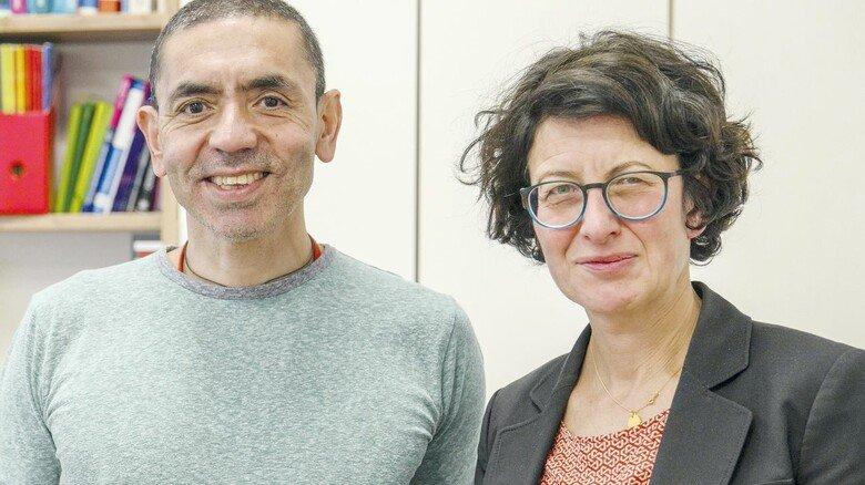 """Biontech-Gründer: Das Ehepaar Professor Ugur Sahin und Özlem Türeci hat mit seiner Firma die Herstellung des Corona-Impfstoffs """"BNT162b2"""" schon gestartet."""