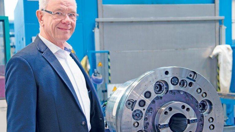 Exportorientiert: Klaus Bühring organisiert die Ausfuhren für den Werkzeugmaschinenhersteller Waldrich Coburg.