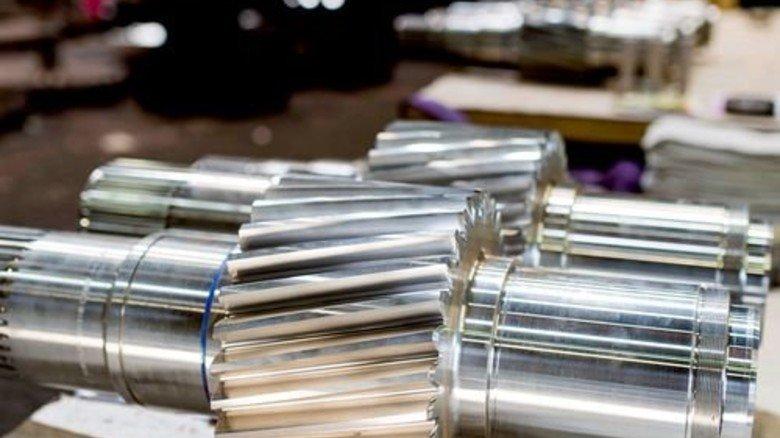 Die Produkte: Reintjes baut Getriebe – zu 90 Prozent fürs Ausland. Foto: Küstner