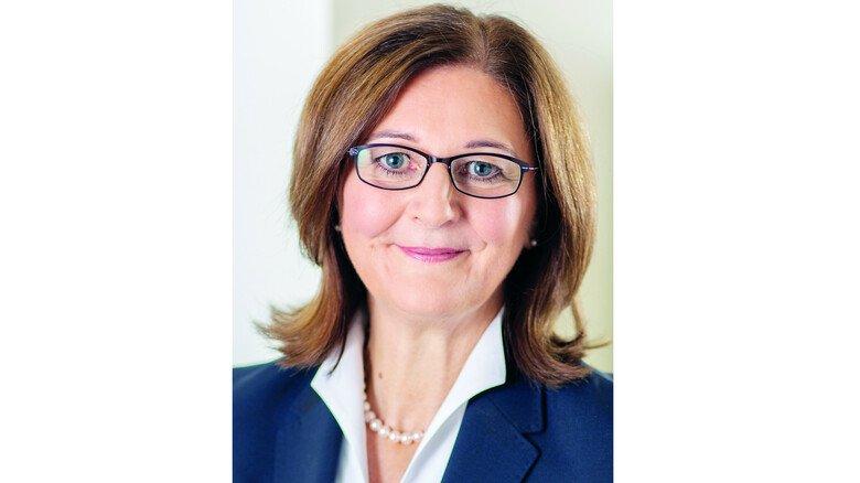 Edith Weymayr: Vorsitzende des Vorstands der L-Bank.