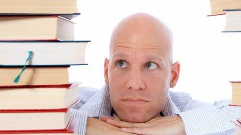 Der traut sich was zu! Nach der Ausbildung fängt für manche das Lernen erst richtig an … Foto: Fotolia