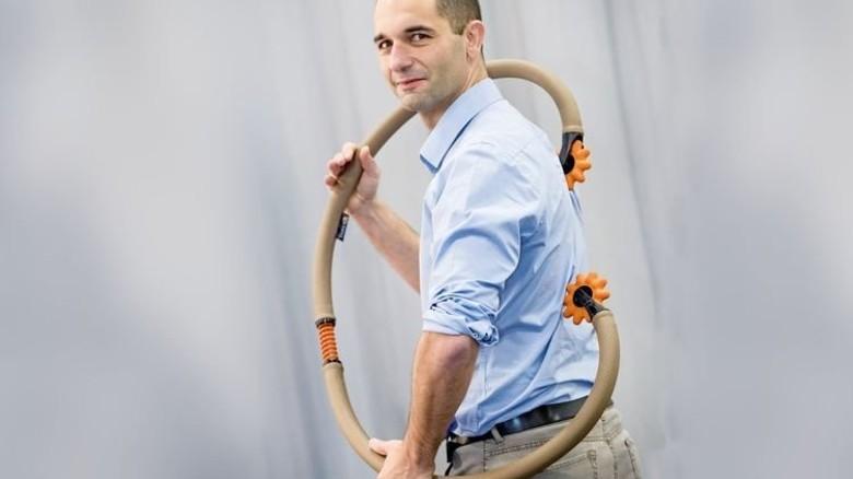 """""""Ich wollte schon immer einmal für mein eigenes Produkt arbeiten."""" Oliver Scheib, Konstrukteur aus Schweigen-Rechtenbach. Foto: Karmann"""