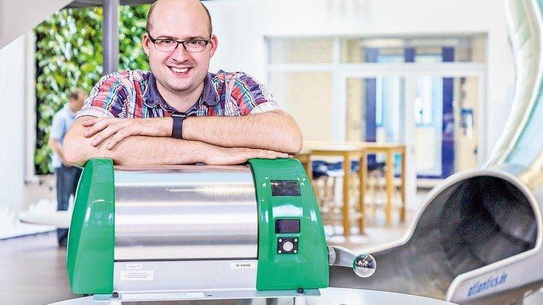 Entwickelt die intelligente Schleuse weiter: Martin Schelter von emz-Hanauer. Foto: Werk