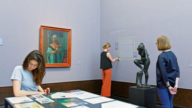 Mehr als Kunstwerke: … Foto: Hamburger Kunsthalle