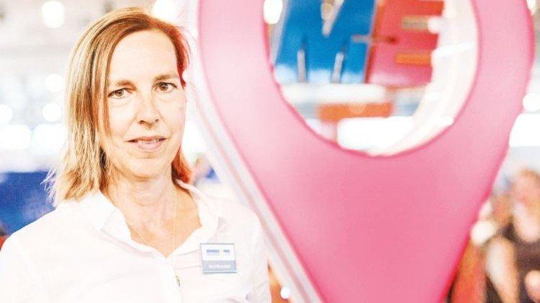 Spaß an Technik wecken: Vera Glaeseker von Niedersachsenmetall. Foto: von Ditfuth