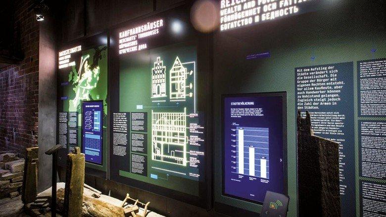Interaktiv: Moderne Medien neben alten Exponaten. Foto: Malzahn