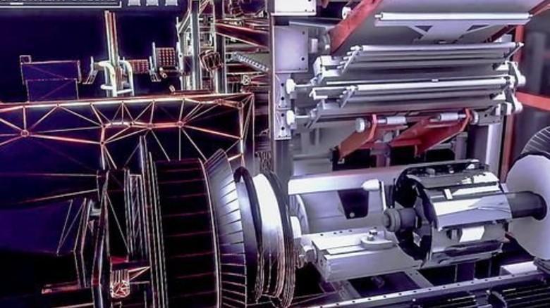 … virtuellen Lernmaschine (Szenen aus Pirelli-Imagefilm). Foto: Screenshot