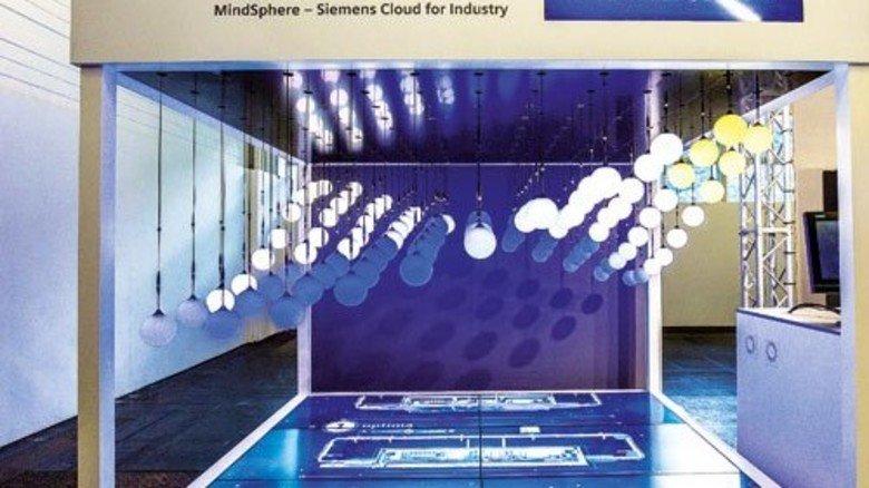 Enträtselt: Komplexe Abläufe in der Produktion, sichtbar gemacht von Siemens. Foto: Bodmer