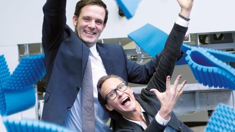 Die Chefs: Jan Henrik Leisse und Nina Patisson wollen den Wandel. Foto: Moll