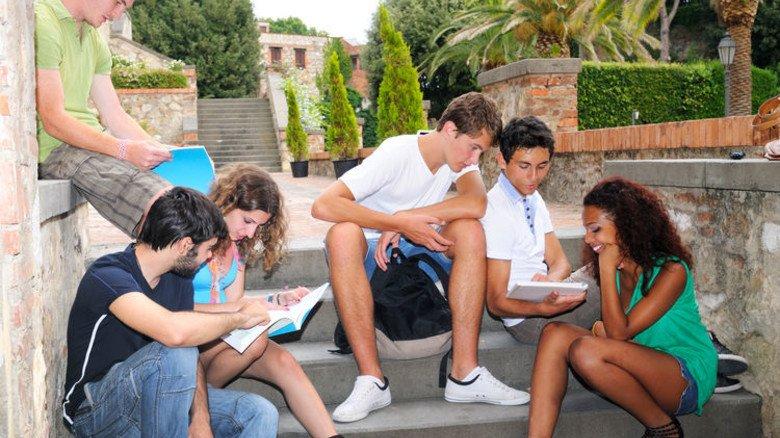 Urlaubsstimmung: Neben dem Sprachkurs bleibt viel Freizeit. Foto: Getty
