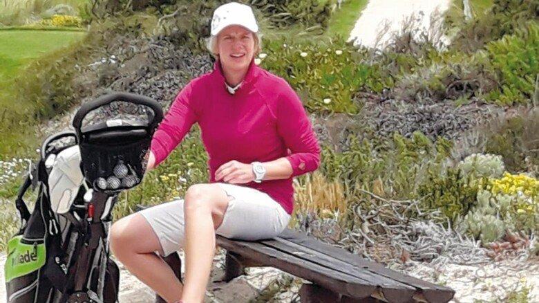 Hobby: Die Hamburgerin entdeckte 2007 ihre Leidenschaft fürs Golfen.