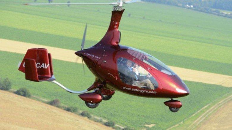 Gyrokopter: Besonders geräuscharm und wendig. Foto: dpa