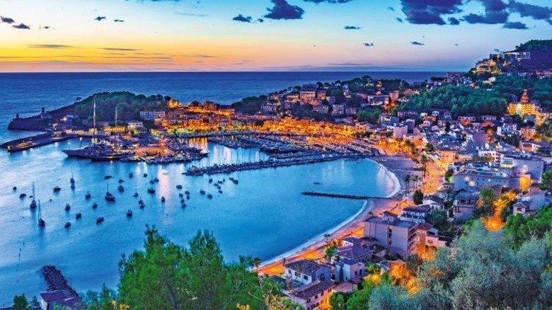 Traumhaft: Puerto de Sóller auf Mallorca. Foto: Fotolia