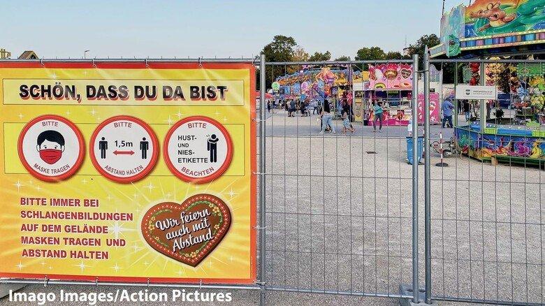 Tristesse: Abgesagtes Volksfest in Pfaffenhofen im September. Von den Absagen vieler Feste, Festivals und Großveranstaltungen sind insbesondere Jugendliche hart getroffen.