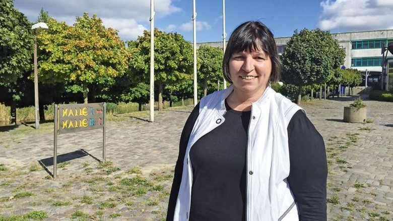 """""""Das Projekt hat sich großartig entwickelt."""" Marion Schlüter, Lehrerin Foto: Augustin"""