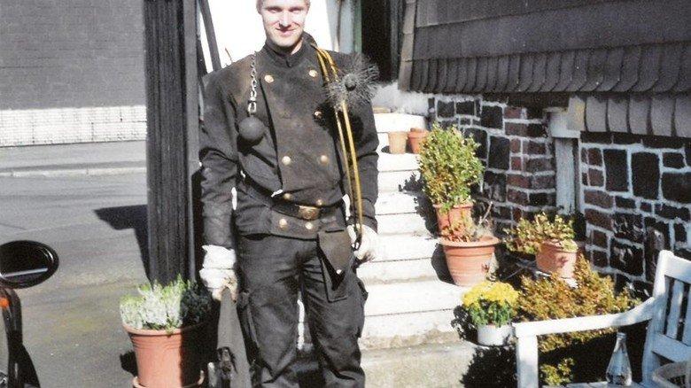 Ein Bild aus alten Tagen: Vor seinem Radunfall stieg Heiko Meyer den Leuten aufs Dach. Foto: privat