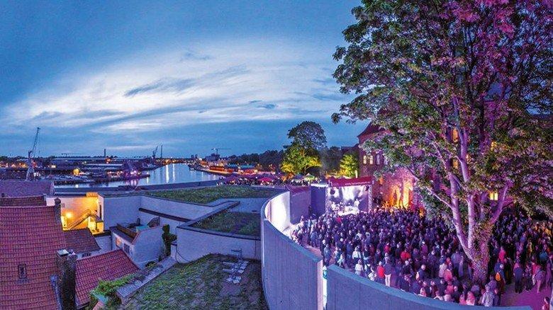 Angesagte Location: Konzert-Veranstaltung im Rahmen des jährlichen Hanse-Kulturfestivals.Foto: Malzahn