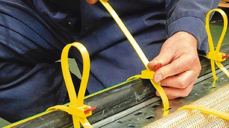 Kerngeschäft: HellermannTyton ist vor allem für seine Kabelbinder bekannt. Foto: HellermannTyton