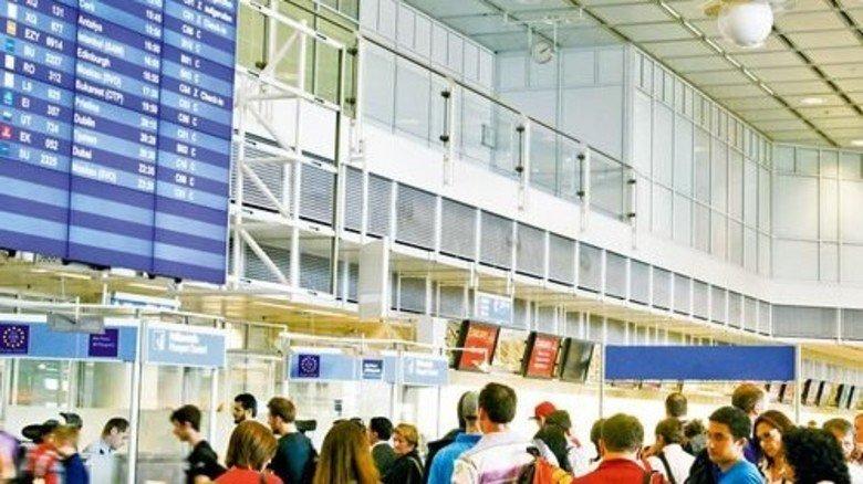 Viel los: Zu Spitzenzeiten kann es an den Terminals eng werden. Foto: Flughafen München