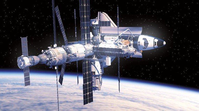 Auf der Interantionalen Raumstation ISS testet die NASA, wie Pflanzen im Weltraum wachsen. Das Licht liefern LEDs von Osram. Foto: NASA