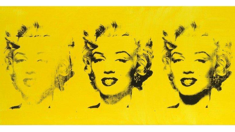 Marilyn: Das Bild wurde Andy Warhol zugeschrieben, stammt aber in Wahrheit von Elaine Sturtevant.