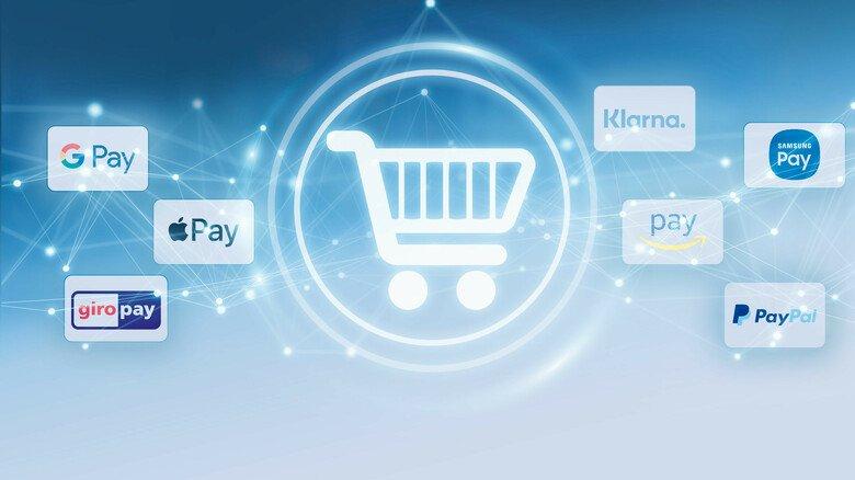 """Meistens was mit """"pay"""": Beim digitalen Bezahlen wollen alle möglichen Anbieter helfen."""