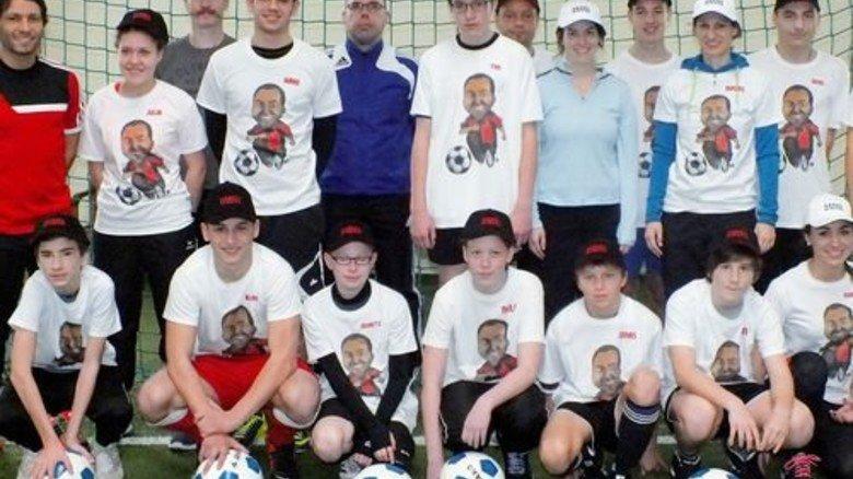 Ablenkung: Sport hilft krebskranken Kindern. Foto: Kinderkrebshilfe Mainz