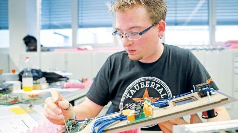 Eigene Hardware: Der Betrieb nutzt selbst gefertigte Technik. Foto: Karmann