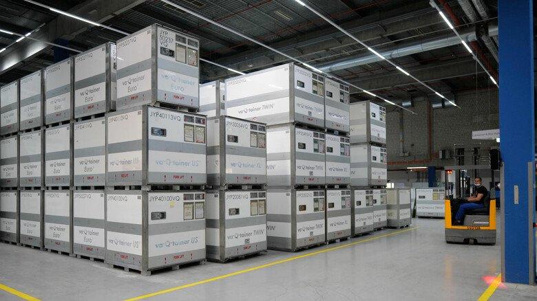 Gefragt: Kühl-Container der Firma Va-Q-tec