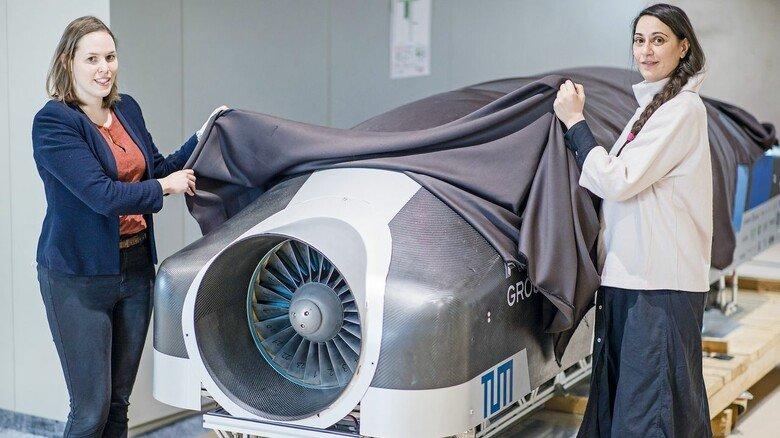 Hyperloop: Ein früher Prototyp ist in Nürnberg zu sehen.