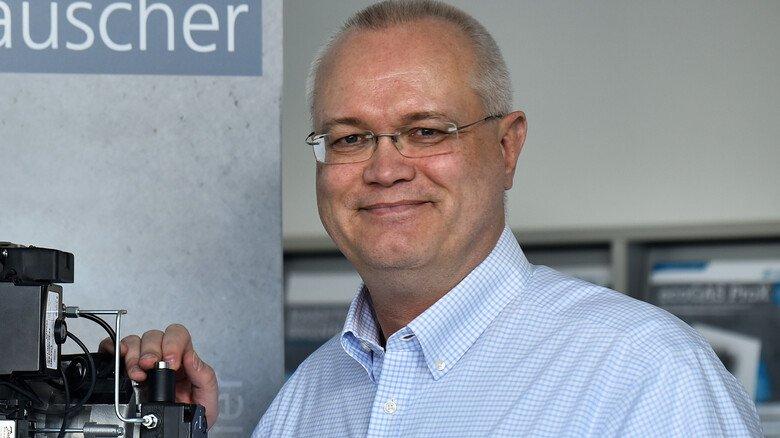 """Geschäftsführer und Vertriebsleiter Frank Schellhöh: """"Wir können als Mittelständler innovativ und flexibel auf die Marktanforderungen reagieren."""""""