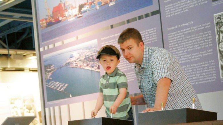 Modellwelt: Hier können die Kleinen Schiffe steuern. Foto: Schiffbau- und Schifffahrtsmuseum