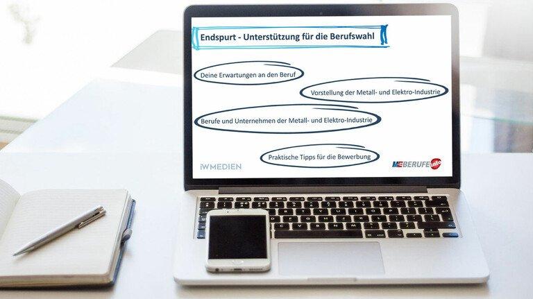 Infos zur Ausbildung: Der ME-Berufe-Stream vermittelt Inhalte aus dem M+E-InfoTruck.